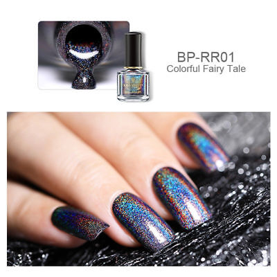 Holographic Nail Polish Holo Glitter Laser Rainbow Hologram Varnish Born Pretty
