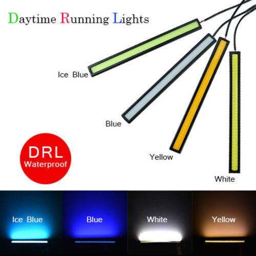 Waterproof 12V COB 4 Colors Car LED Light For DRL Fog Light Driving Lamp 1pcs