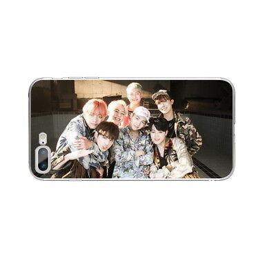 KPOP Bangtan Boys Soft TPU Phone Case Cover For iPhone X 6 6s 6 7 8 Plus 11