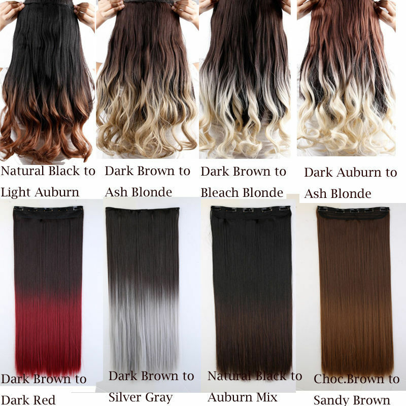 Extra Long 17 30 Inch Clip In Hair Extensions Remy Sexy Straight