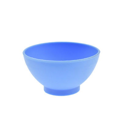 Dental Lab Mixing Bowl Blue Nonstick Flexible Silicone Rubber Impression Cup 9