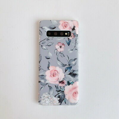 Shockproof Flower Slim Phone Case Cover For Samsung Galaxy S10 Plus A70 A50 S9 9
