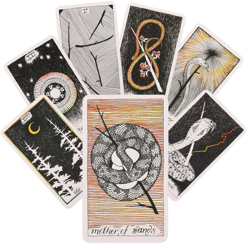 The Wild Unknown Tarot Cards Deck Rider-Waite Oracle Fortune Telling Card Gifts 3