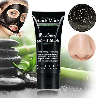 Like Shills Deep Cleansing Black MASK purifying peel facial clean acne Blackhead 4