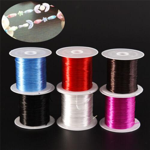 Strong Stretchy Elastic Beading Thread Cord Bracelet String Jewelry DIY 1MMtEv