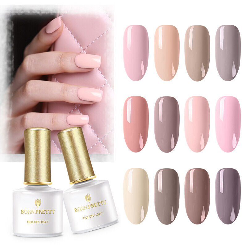 BORN PRETTY UV LED Gel Nail Polish Top Base Coat Manicure Long Lasting Salon 7