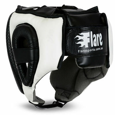 Flare Grill Head Guard Bar Helmet Kick Boxing Gear Face MMA Protection Headgear