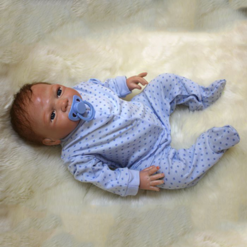 "20"" Full Body Realistic Reborn Dolls Lifelike Baby Boy Newborn Doll Gifts 8"