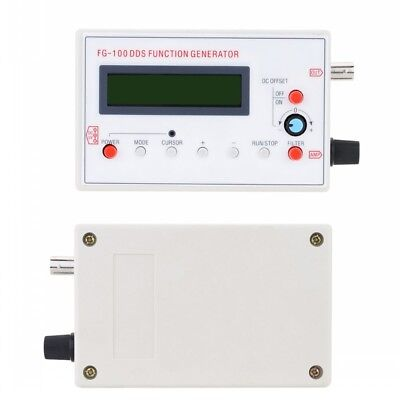 DDS Function Signal Generator Sine+Triangle+Square Wave Frequency 1HZ-500KHz New 5