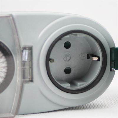 analoge Tages-Zeitschaltuhr, Aussen IP44, max 3500W 230V Schaltuhr Zeitschalter 4