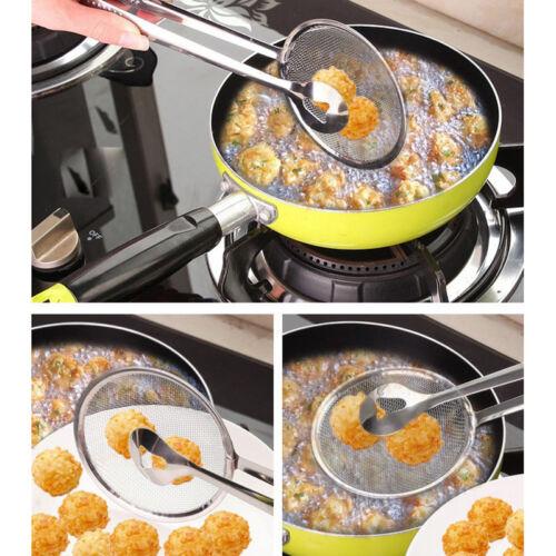 Acier Inoxydable Huile Mash Friture Tamis Filtre Passoire Maille Cuisine Outil 3