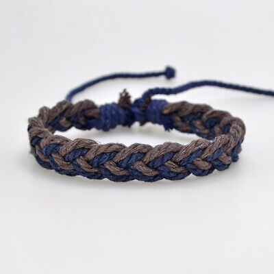 Fashion Girl's Hemp Rope Weave Bracelet Simple Accessories Jewelry Gift 9