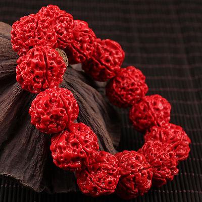 Fine 100% Hand-carved Natural Handcraft Men Fine Bracelet AAAAA 5