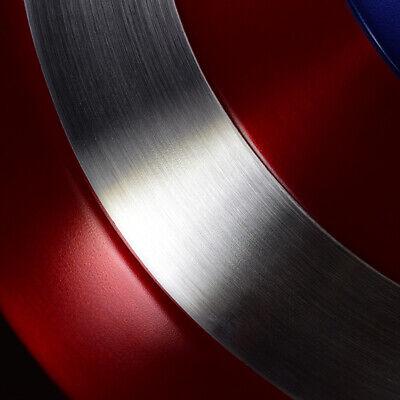 1:1 Avengers Captain America Shield Alloy Metal Version Cosplay Prop Display 9