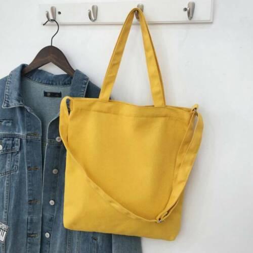 Women Ladies Designer Canvas Bag Clutch Purse Handbag Shoulder Bag Phone Pocket 6