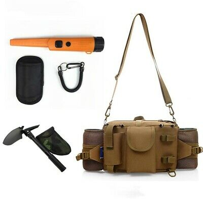 Multi-purpose Finds Pouch Shoulder Bag Waterproof Metal Detector Waist Bag 3