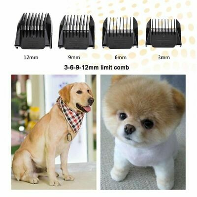 Dog Pet Hair Trimmer Professional Cat Shaver Grooming Clipper Kit Cordless Heavy 5
