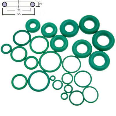 10pcs Oil Resistant FKM Viton Fluorine Rubber Sealing O-Ring OD 4-32mm CS 1mm 2
