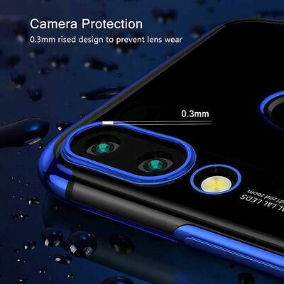 CUSTODIA per Xiaomi Redmi 7 / Note 7 COVER ELECTRO + PELLICOLA VETRO TEMPERATO 8