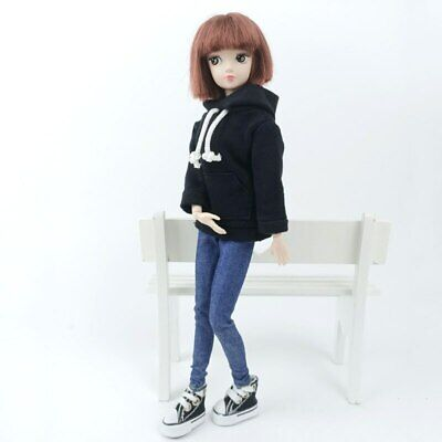"""Fashion Handmade Hoodie For 11.5"""" 1/6 Doll Sweatshirt Outfits Doll Clothes Shoes 8"""