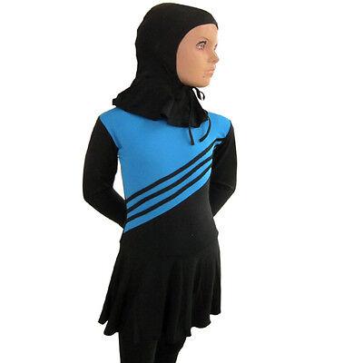 a51c72bcd5c ... Muslim Arab Kids Girls Modest Swimwear Full Cover Swimsuit Islamic  Beachwear Hot 2