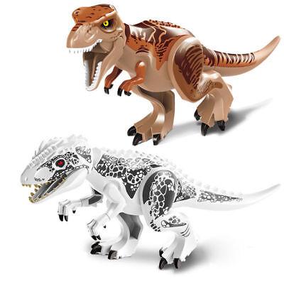 6x Fr Lego Dinosaurier Tyrannosaurus T-Rex Spielzeug Jurassic World Park Serie 4