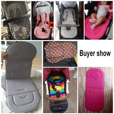 Baby Stroller Seat Liner Pram Cushion Padding Crawl Pushchair Car Seat Mat Cover 2