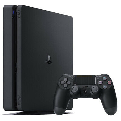 Sony Playstation 4 Ps4 Console 500Gb F Chassis Slim Hdr Nuovo Italia Black Nero 6