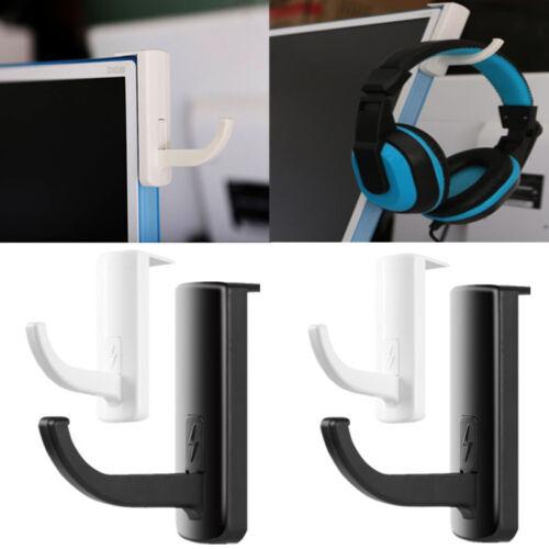 Headphones Holder Earphone Headset Wall PC Monitor Display Hanger Stand Rack