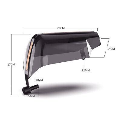 2PCS ATV Motorcycle Handle Bar Hand Guard Protector Fit for 22mm handle bar 7
