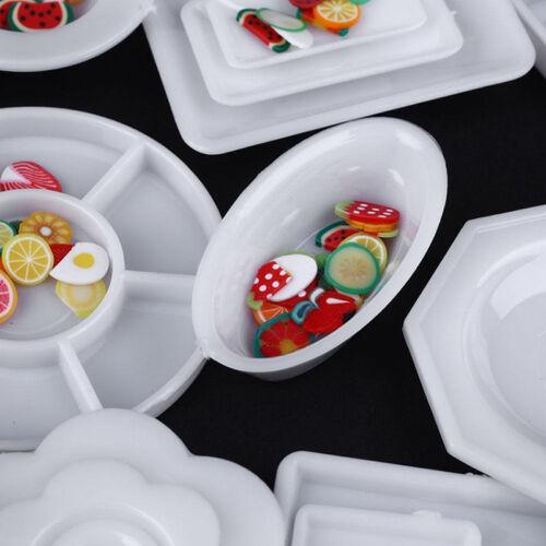 33pcs/Set Dollhouse Miniature Tableware Plastic Plate Dishes Set Mini Food 2017 7