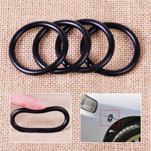 4Pcs Rubber O-Ring FastenerKit High Strength Bumper Quick Release ReplacementGK 4