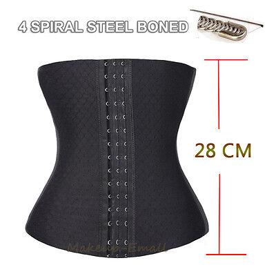 AU Women Corset Tummy Shaper Waist Cincher Slimming Body Girdle Belt Training