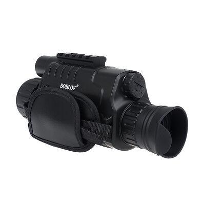 WG-37 5X40 Zoom digitale Visore notturno monoculare a infrarossi Disco 9