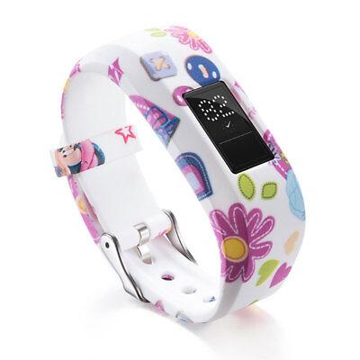 Replacement Band For GARMIN VIVOFIT JR JR2 JUNIOR Fitness Wristband Bracelet 5