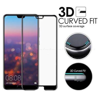 Full Cover Tempered Glass Screen Protector Huawei P20 Pro lite/ P Smart /Nova 3i 3