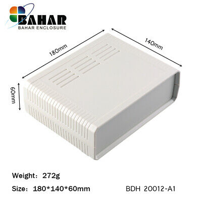 Aluminium Elektrische Gehäuse Aluminum Enclosure Schwarz Black Box 126x96x220mm