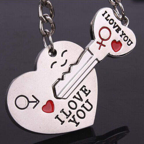 Charm 1 Pair Key To My Heart Couple Keychain Keyring Valentine S Day