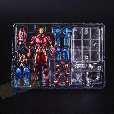 S.H Figuarts Avengers Figurine d/'action Iron Man Mk50 Nouveau dans la boîte