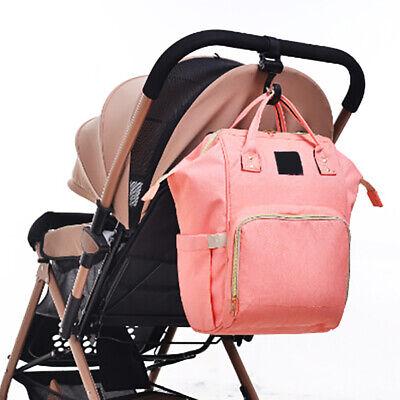 2pcs/Lot Baby Hanger Bag Stroller Hooks Pram Rotate 360 Cart Hook Accessories 4