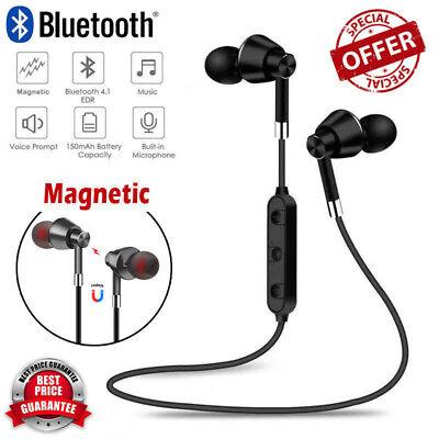 Wireless Bluetooth Sweatproof Headphones Sport Earphones Stereo Headset With Mic 2