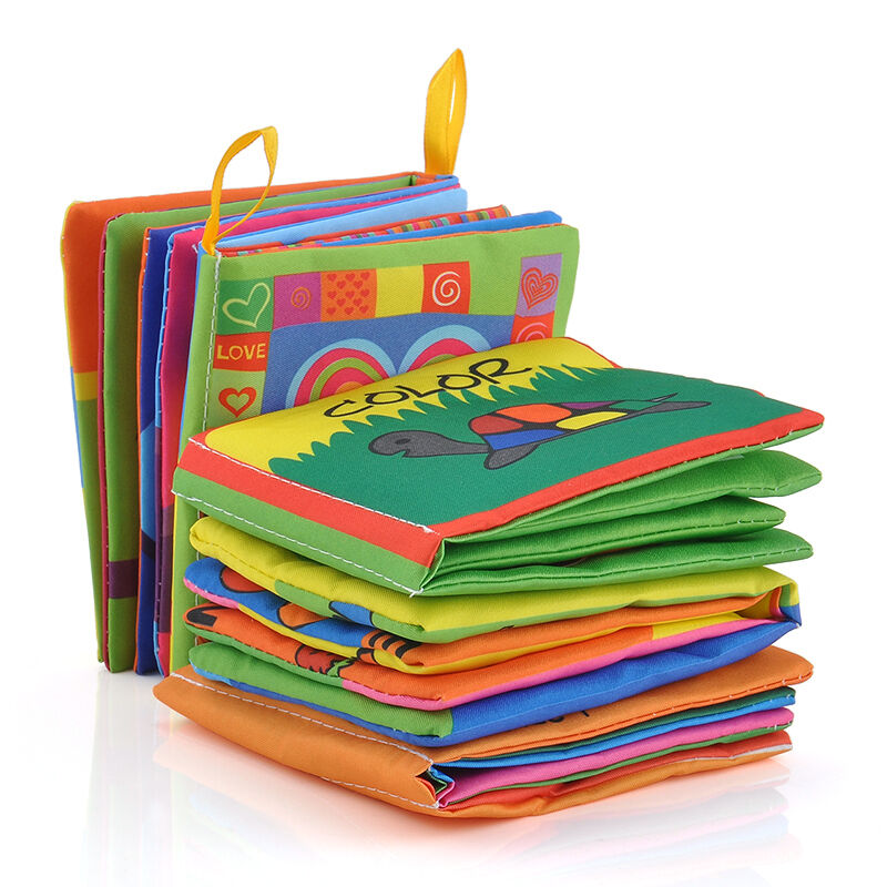 Intelligence development Cloth Bed Cognize Book Educational Toy for Kid Baby Hot 5