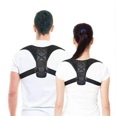 Posture Corrector Support Back Shoulder Brace Belt For Men Women MJK 4