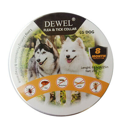 Dewel Pro Guard Flea and Tick Control Collar for Large Dog Over 18lb 8 Month NEW 4