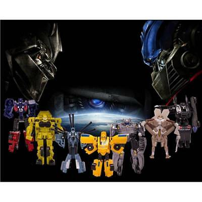Transformers Toys Action Figures Optimus Prime Robots Cars Megatron Kids Gift 6
