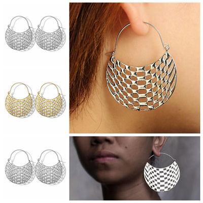 Fashion Bohemia Jewelry Vintage Silver Ear Hook Drop Dangle Tassel Bead Earrings 9
