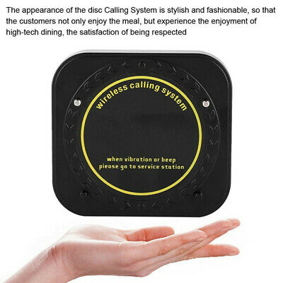 Restaurant Calling Pager Paging System Equipment 1Transmitter+20 Coaster Pagers 7