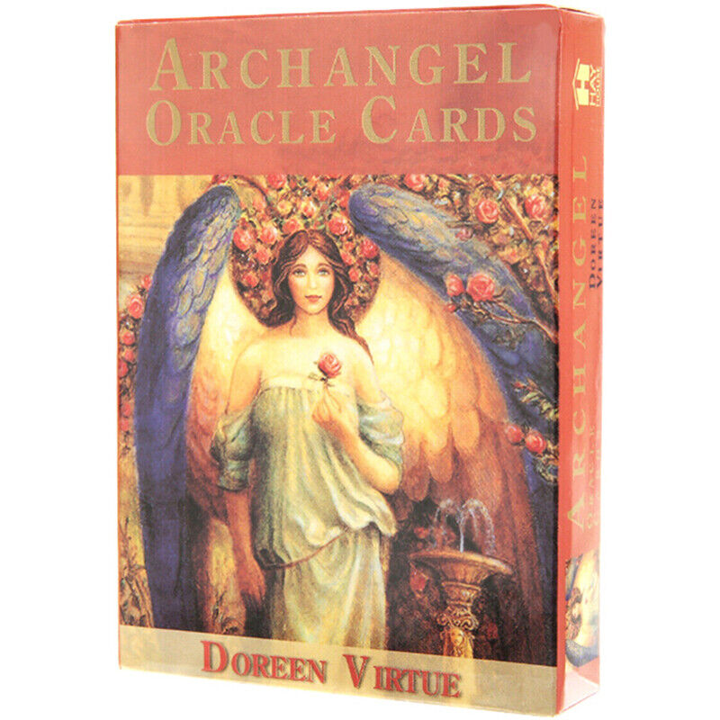 1Box New Magic Archangel Oracle Cards Earth Magic Fate Tarot Deck 45 Cards HU 3