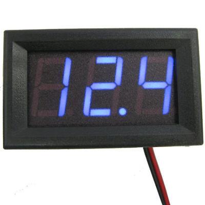 Voltage Display DC Meter 3-Digital Mini Voltmeter Wires LED 0-30V  Panel Tester 3