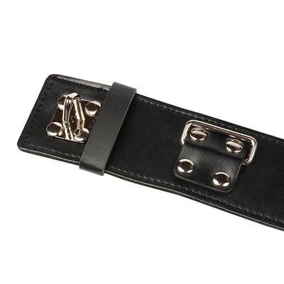 Dessous Leder Bondage Fesseln Slave Halsband Zu Handschellen Fetisch Bdsm Erwach 3